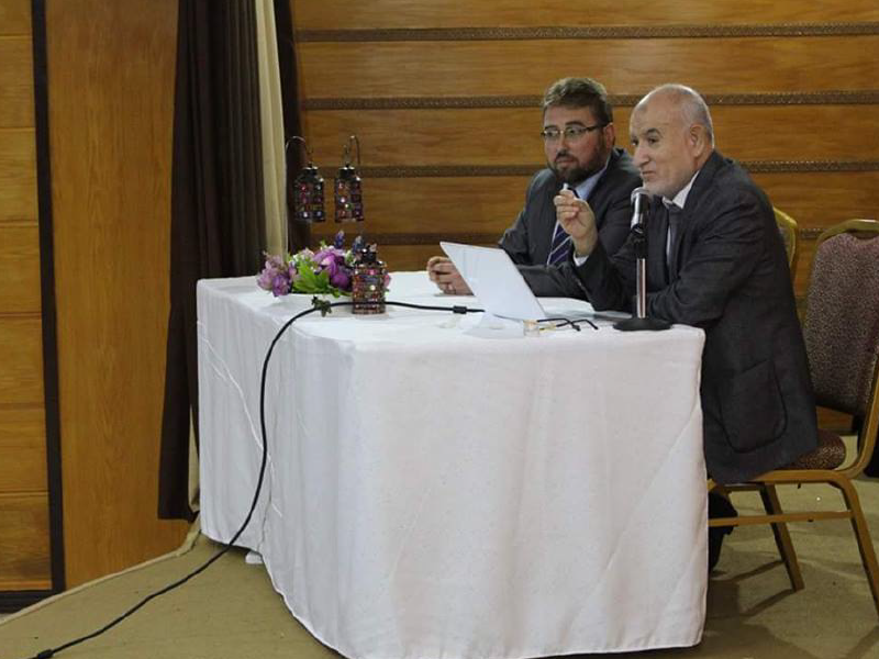 محاضرة انهيــار الأخلاق وأمراض العصر في أكاديمية ومدارس الاحتراف الدولية عمان 2019