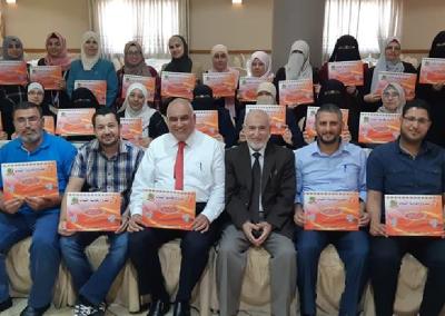 دورة إعداد المحاضرين في المشروع في إربد – الأردن 2018