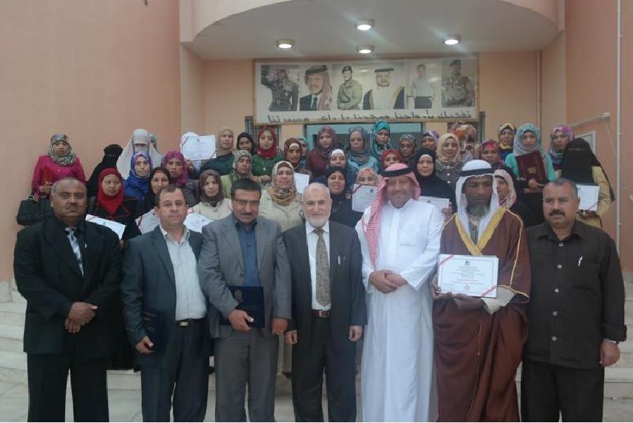 دورة إعداد المحاضرين في غور الصافي الأردن 2014