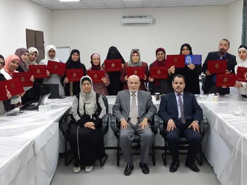 دورة إعداد المدربين الخامسة ضمن مشروع وقاية الشباب من الامراض المنقولة جنسيا والايدز – الأردن 2018