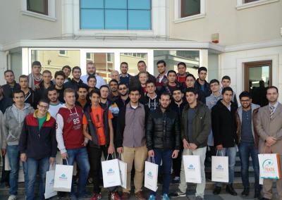 دورة وقاية الشباب من الامراض المنقولة جنسيا والايدز برؤية اسلامية لطلاب جمعية مشعلة للطلاب الدولية في تركيا 2014