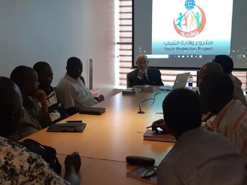 توقيع اتفاقية بين إدارة المشروع ومجلس إدارة مركز نشر الاسلام في تنزانيا 2019