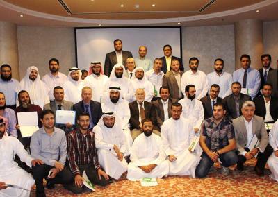 دورات المشروع بالتعاون مع مؤسسة الشيخ ثاني بن عبدالله – راف – في الدوحة 2015