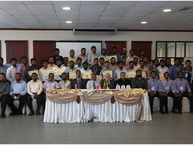 زيارة وفد مشروع وقاية الشباب الى سريلانكا 2015