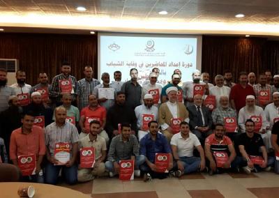 دورة إعداد محاضرين في وقاية الشباب في صيدا – لبنان 2016