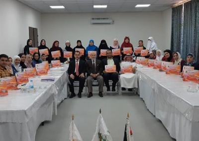 دورة إعداد المحاضرين في المشروع في جمعية العفاف الخيرية – الأردن 2018