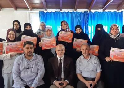 دورة إعداد المحاضرين في وقاية الشباب للأخوات السوريات في أنطاكيه – تركيا 2018