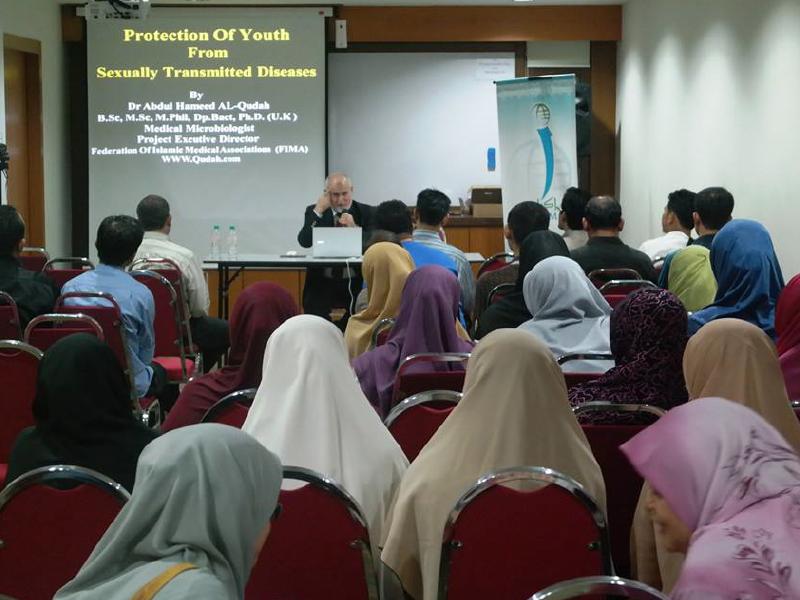 دورات جديدة في وقاية الشباب من الإيــــدز في الجزر الماليزية 2014