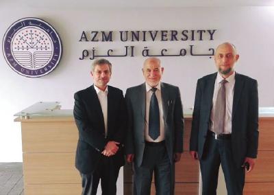 التحضيرلتوقيع اتفاقية ثنائية لاطلاق اول دبلوم في التربية الجنسية الأمنة مع جامعة العزم في طرابلس/لبنان 2016