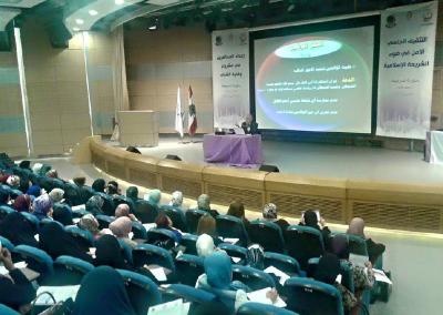 وفد مشروع وقاية الشباب في ضيافة دار العلم والعلماء في طرابلس – لبنان 2015