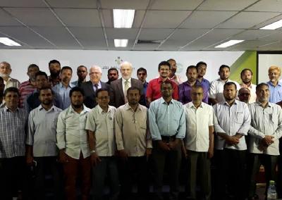 تقرير زيارة وفد مشروع وقاية الشباب إلى جزر المالديف 2017