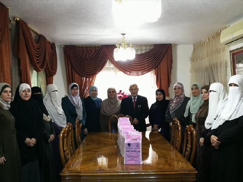 """دورة """"المتخصصات بالتثقيف الجنسي الامن في ضوء الشريعة الاسلامية"""" إربد 2018"""