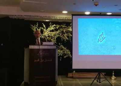 محاضرة عالم المايكروبات – الجمعيه الاردنيه لإعجاز القرآن والسنه 2018