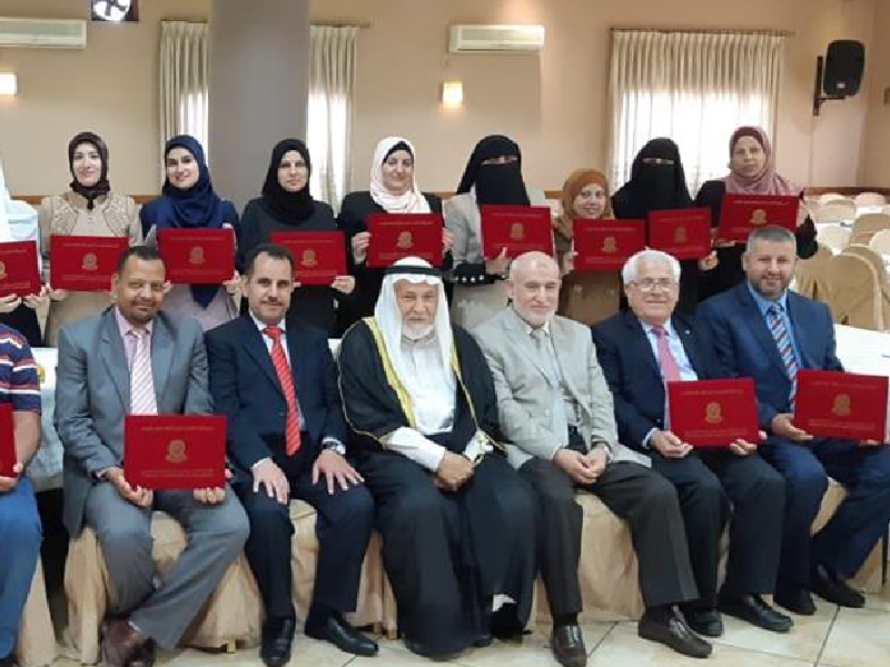 دورة اعداد المدربين السادسة في مشروع وقاية الشباب في إربد – الأردن 2018