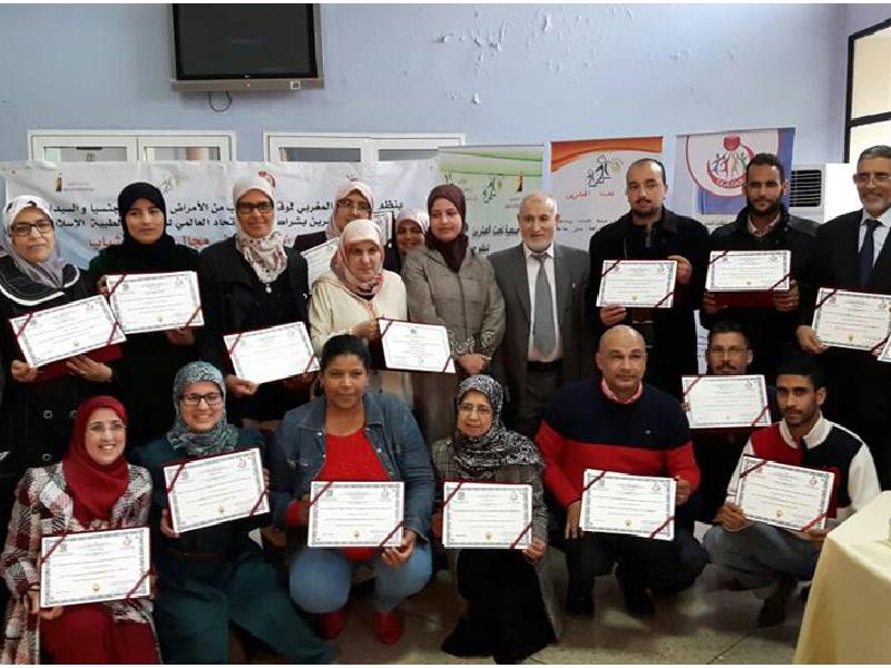 دورة إعداد المدربين الثالثة في فاس المغرب 2016