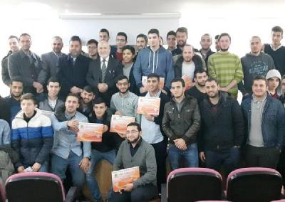 تقرير زيارة وفد مشروع وقاية الشباب الى جمعية مشعلة الدولية للطلاب في اسطنبول – تركيا 2015