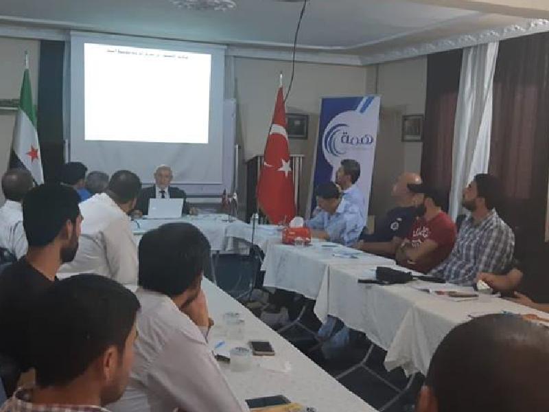 دورة إعداد المحاضرين في وقاية الشباب للمعلمين السوريين في الجنوب التركي – تركيا 2018