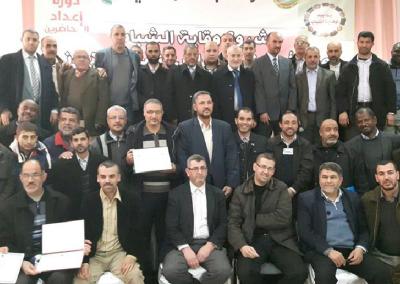 دورات للمشروع بالتعاون مع حركة البناء الوطني في ولاية بومرداس- الجزائر 2016