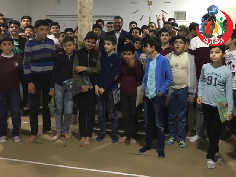 محاضرة للمدرب في مشروع وقاية الشباب في كردستان الشيخ صلاح شيراواني 2019