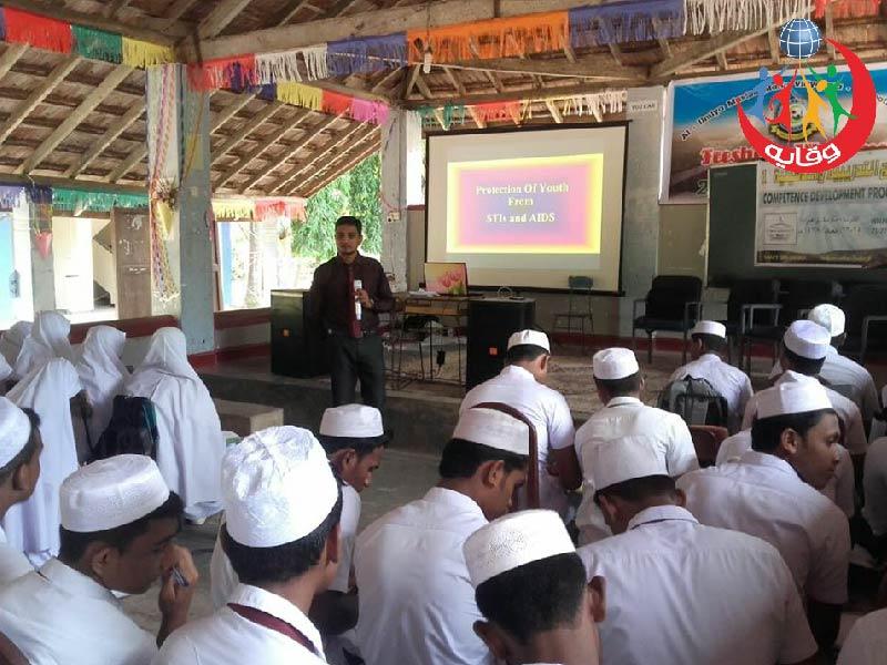 دورة في وقاية الشباب من الأمراض المنقولة جنسياً والإيــدز في سيرلانكا 2017