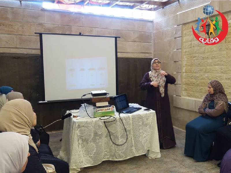 محاضرة جديدة تقدمها المدربة إسراء القضاة في مان – الأردن 2019