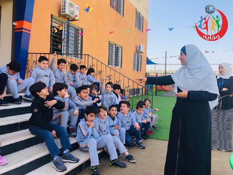 نشاط جديد للمدربة المهندسة مي العمري في إربد – الأردن 2019