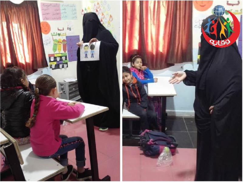 ورشة للأطفال بعنوان أنا بطل أحمي جسدي للمدربة يارا عوده 2019