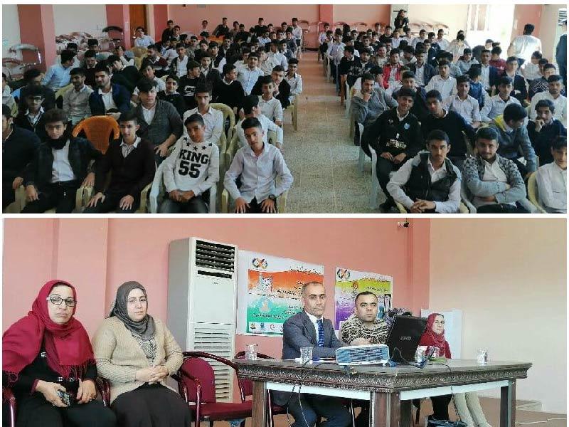 محاضرة حول الأمراض المنقولة جنسياً للمدرب للأستاذ عبدالله محمد سيويلي في كردستان 2019