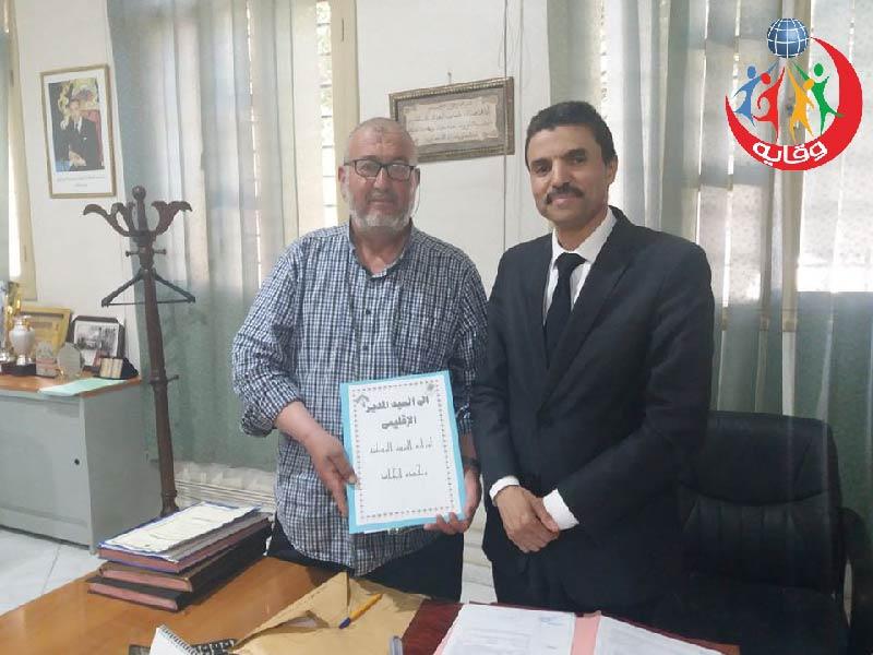 لقاء المدير الاقليمي لوزارة التربية الوطنية في وجدة – المغرب 2018