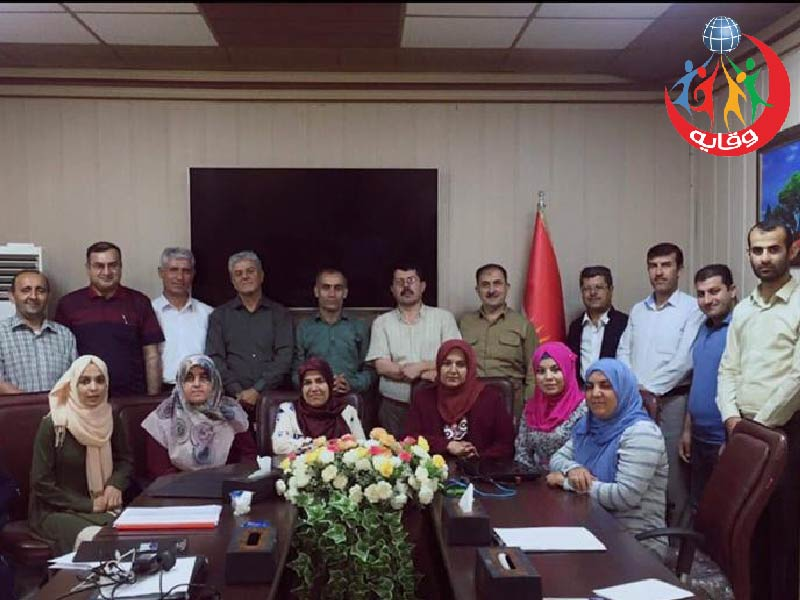 الاجتماع الثاني لمدربي مشروع وقاية الشباب في محافظة السليمانية في كردستان العراق 2018