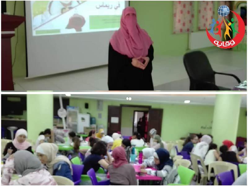 ورشة لليافعات تقدمها المدربة عبير الغزو في مركز ريماس القرآني 2019