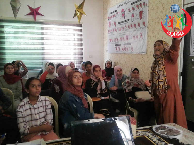 محاضرة لليافعات تقدمها المدربة ضحى محمود في عمان – الأردن 2019