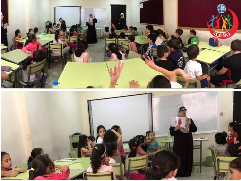 ورشة للأطفال تقدمها المدربة إسراء القضاة 2019