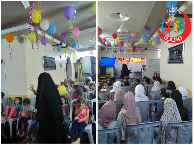 نشاط للمدربة يارا عوده لوقاية الأطفال من التحرش الجنسي في إربد – الأردن 2019