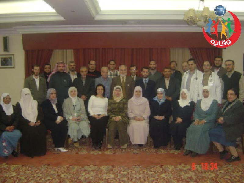 دورة للإعلاميين والإعلاميات حول وقاية الشباب في المستشفى التخصصي في عمان-الأردن 2006