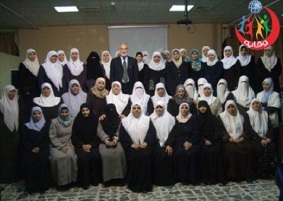 دورة حول وقاية الشباب من الأمراض المنقولة جنسياً والإيدز في كلية المجتمع الإسلامي في الزرقاء – الأردن 2008