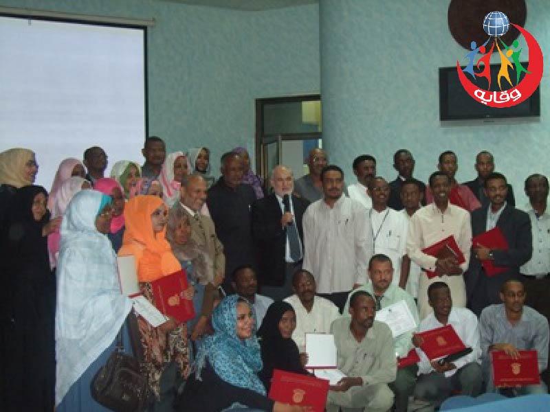 دورات المشروع بالتعاون مع جمعية وابل الخير الخيرية في السودان 2011