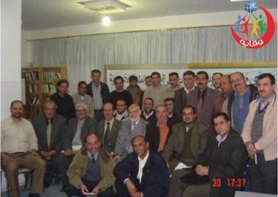 دورة في نادي معلمين إربد – الأردن 2007