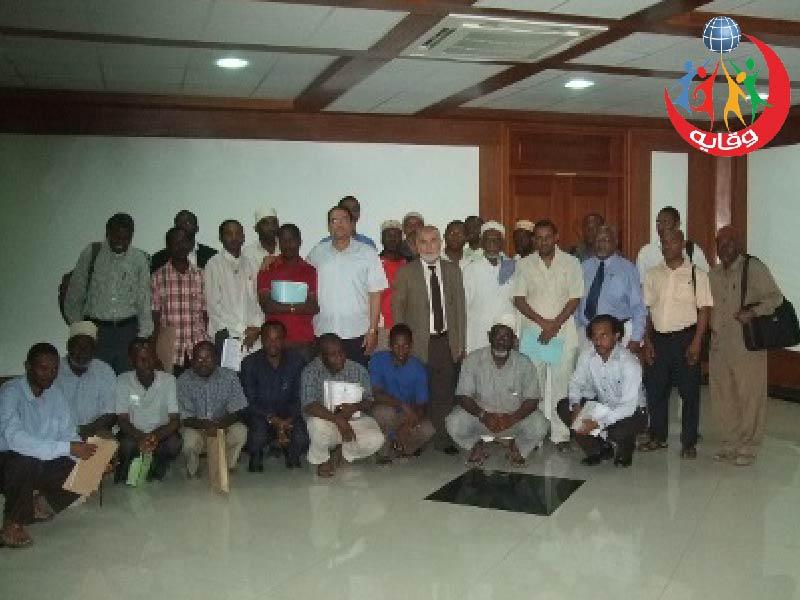 دورة في وقاية الشباب في تنزانيا 2012