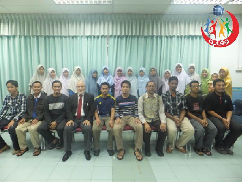 دورة وقاية الشباب في كوالالمبور – ماليزيا 2012