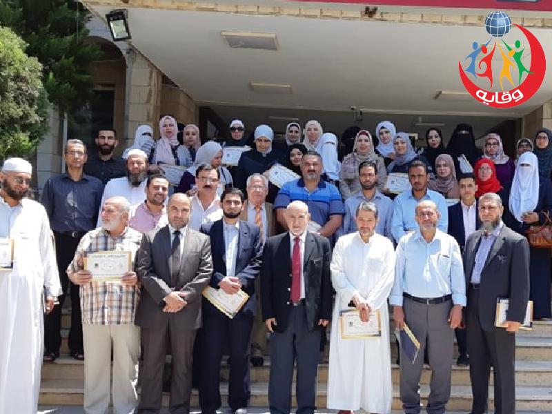 دورة إعداد المحاضرين في مشروع وقاية الشباب بالتعاون مع نقابة المهندسين في إربد – الأردن 2019