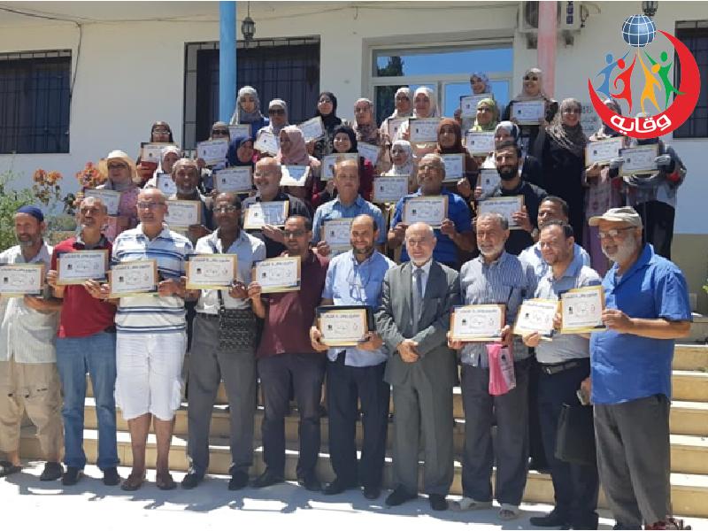 دورة إعداد المحاضرين في مشروع وقاية الشباب في تونس 2019