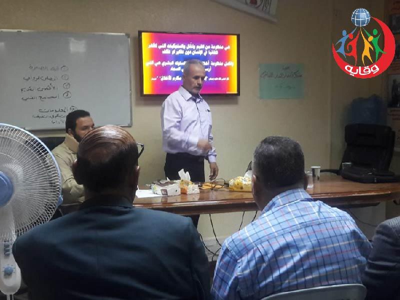 محاضرة حول وقاية الشباب من الأمراض المنقولة جنسياً يقدمها المحاضر الدكتورغسان الصيفي في الزرقاء 2019