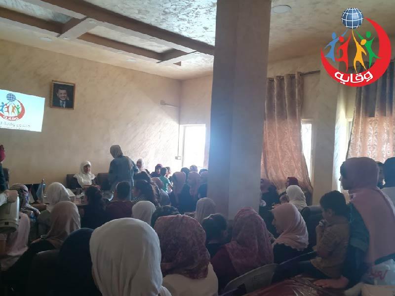 محاضرة في مركز سمر القرآني للمدربة سوزان العودات في إربد 2019