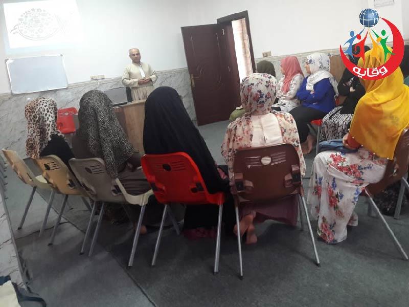 محاضرة للمدرب ياسين محمد صالح في أربيل – كردستان 2019