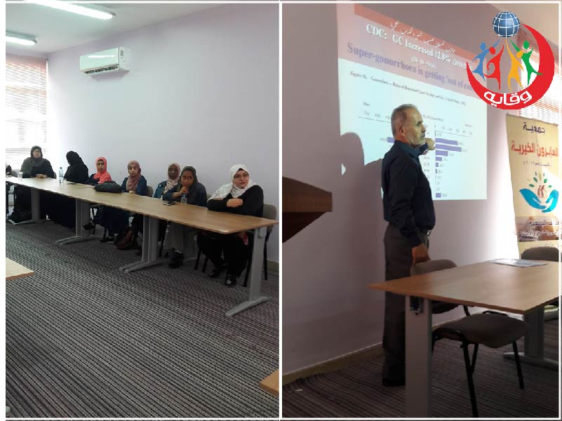 محاضرة حول وقاية الشباب من الأمراض المنقولة جنسياً للمحاضر غسان الصيفي في الزرقاء – الأردن 2019