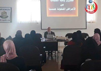 دورة إعداد المحاضرين في مشروع وقاية الشباب الرمثا – الأردن 2019