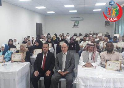 دورة إعداد المحاضرين في مشروع وقاية الشباب في جمعية العفاف الخيرية في عمان – الأردن 2019