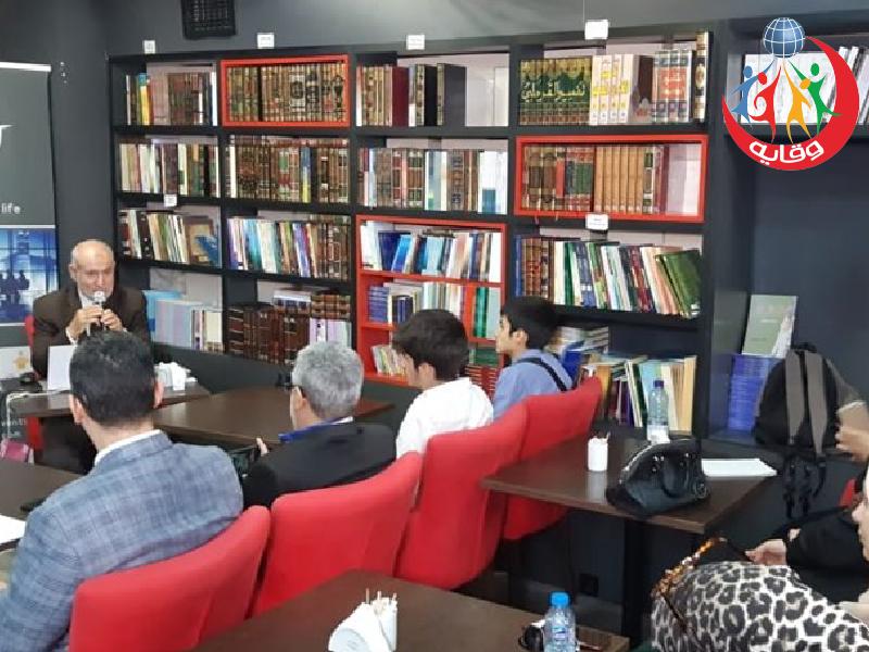 دورتين للمدير التنفيذي لمشروع وقاية الشباب د.عبدالحميد القضــاة في اسطنبول – تركيا 2019