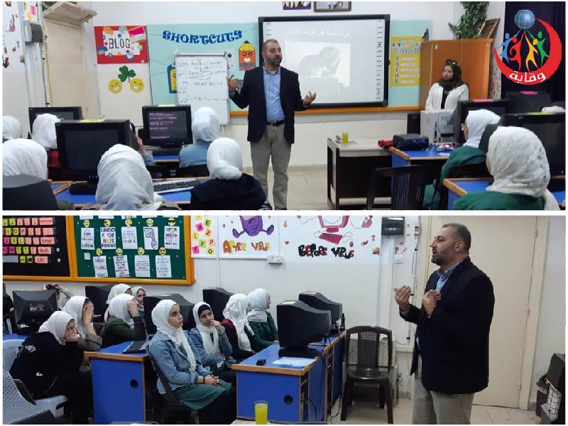 محاضرة في ثانوية بنات إربد للمدرب د.عصام الطراد – الأردن 2019